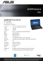 Asus Datenblatt